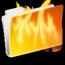 folder-burn